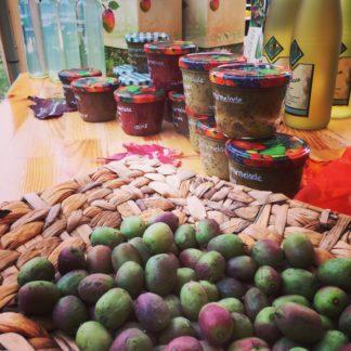 Kiwibeeren-Produkte